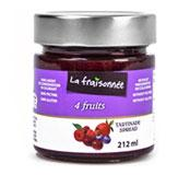 confiture 4 fruits luxe