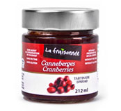 confiture fruits canneberges