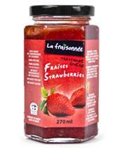 confitures fraises