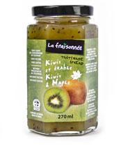 kiwi erable confiture