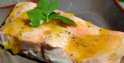 saumon poisson érable