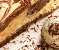 gateau fromage chocolat