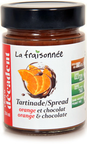 orange chocolat confiture