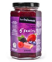 confiture 5 fruits