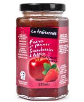 confiture fraise pommes
