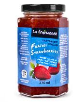 fraises sans sucre